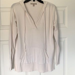 Banana Republic Off-white Hooded sweater